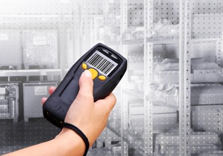Handheld computer voor draadloze barcode scanning identificatie
