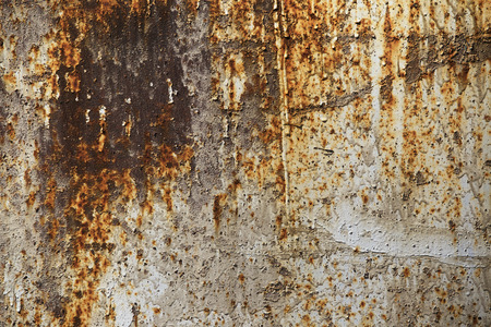 oxidate: Sheet metal, rust corrosion old textured piece of iron for background