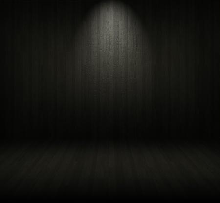 Fondo de madera de Creative. Dentro de un cuarto