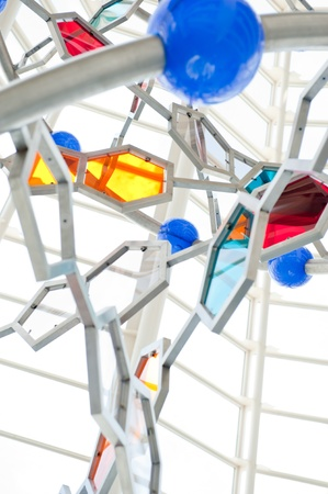 VALENCIA, SPAIN - SEPTEMBER 17: DNA stand at Museum of Science at Valencia, Spain Stock Photo - 12027198