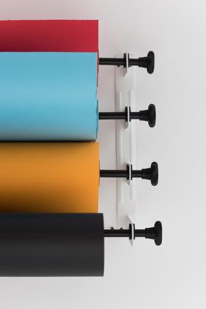 papier couleur: Couleur milieux de studio de papier