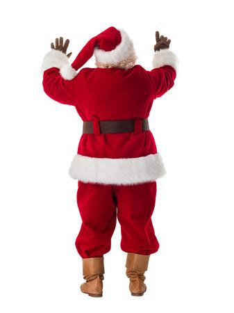 Portret van de Kerstman Stockfoto