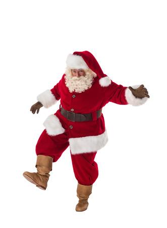 prowl: Santa Claus Portrait. Walking on the prowl Stock Photo