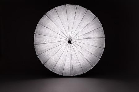reflector: Giant Reflector Full Length Studio Equipment Stock Photo