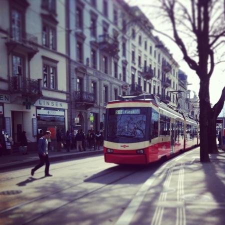 tramway: Zurich Tramway