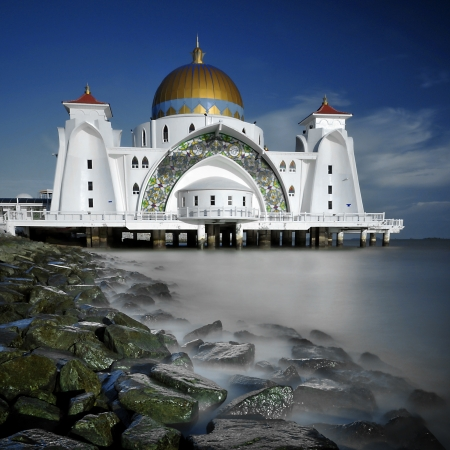islamic scenery: Selat Mosque