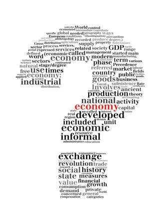 search query: economy crisis question mark -text graphic and arrangement concept Stock Photo