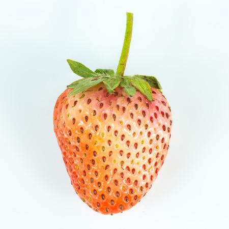 endorphine: Strawberry isolated on white background