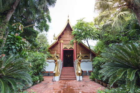 pra: Buddhist temple, Wat Pra Kaew in Chiang Rai ,Thailand (Public area not required Property Release)