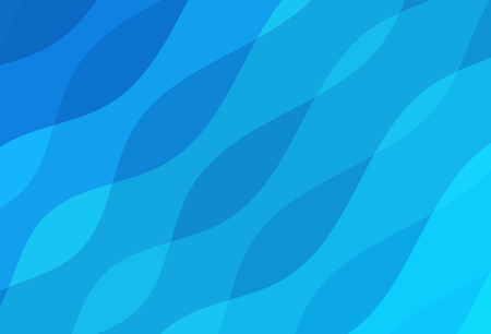 Abstract background waving water curve line concept vector illustration