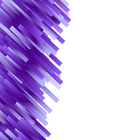 Purple violet gradient rectangle lines crystal concept abstract background geometric glowing