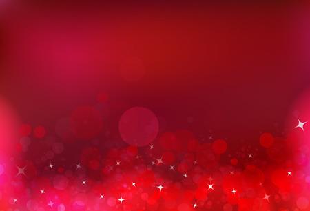 Red party celebration bubble air magic stars dust light shiny blinking glitter fantasy blurry circle luxury abstract background Vektoros illusztráció