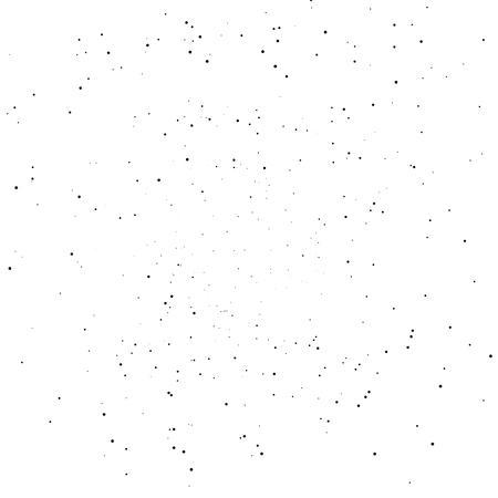 Black spots scatter glitter distress abstract background vector illustration