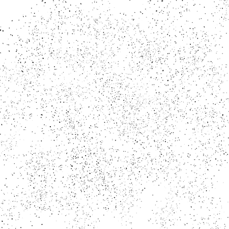 Noise grain texture stars dust and particles in space and galaxy black spots scattered abstract background vector illustration Illustration