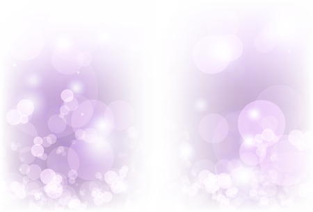 Blurry bubble air Bokeh abstract background purple magic light ray vector illustration 向量圖像