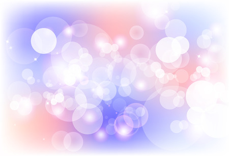 Blurry bubble magic blinking sparkle stars glitter shiny purple and pink concept abstract background vector illustration
