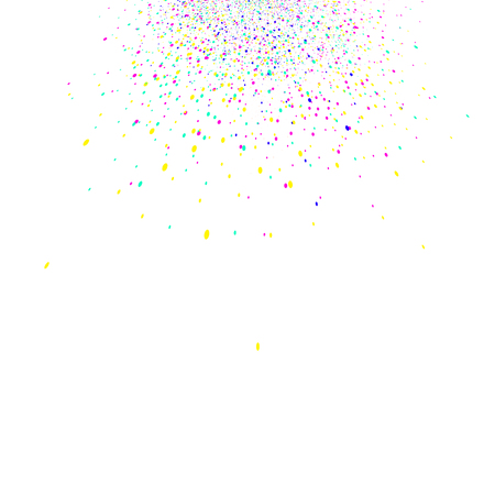 Colorful confetti scatter splash celebration party abstract background vector illustration Ilustrace