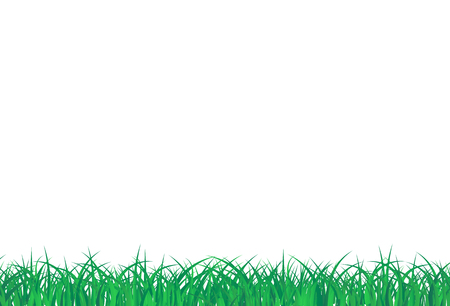 Grass field fresh concept abstract background vector illustration in horizontal