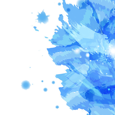 Watercolor splash, abstract artistic background texture banner  template , using for beauty and fashion vector illustration
