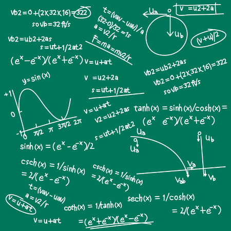 Formel doodle Vektorgrafik