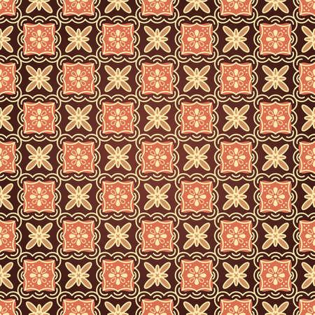 indonesisch: Batik naadloze patroon