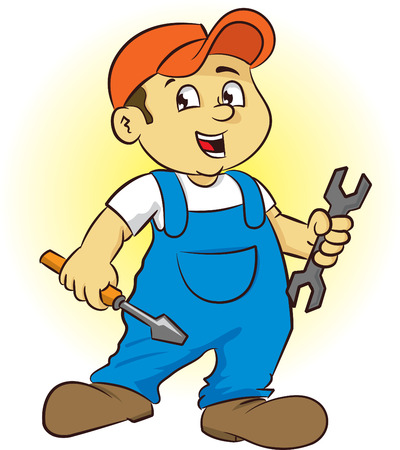 repairman Stock Vector - 8079121