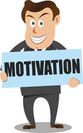 sales manager: businessman  Illustration