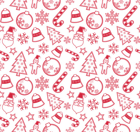 Christmas pattern Stock Vector - 8486922
