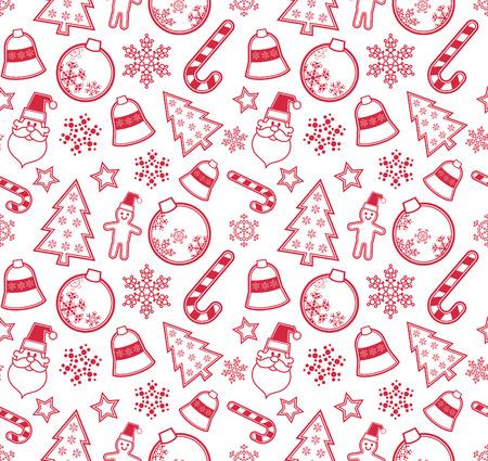 Christmas pattern Stock Vector - 8486922
