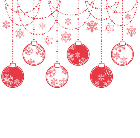 light chains: Christmas decoration