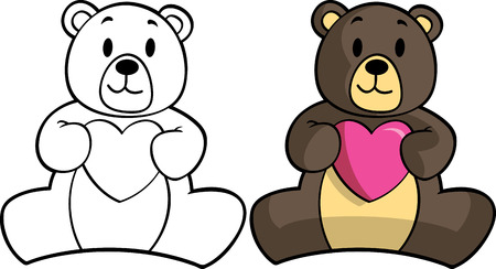 bear doll: teddy bear Illustration