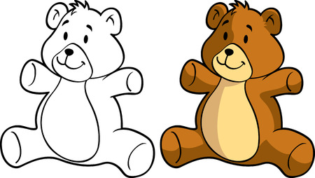 teddy bear Stock Vector - 8876070