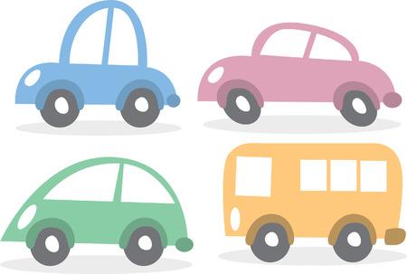 Auto-doodle Vektorgrafik