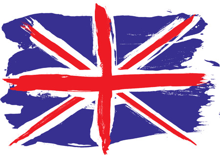 drapeau angleterre: Drapeau du grunge