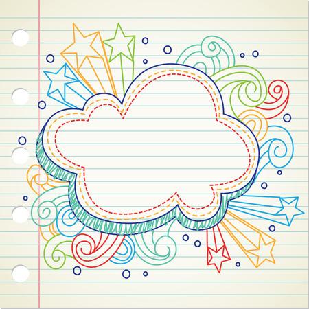 doodle Stock Vector - 8876132