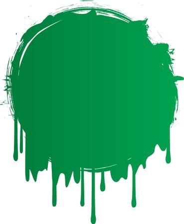 drop of blood: libya grunge flag