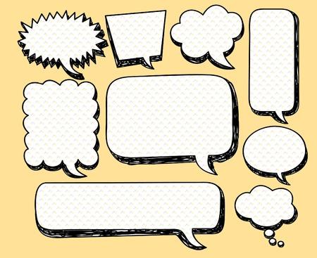 buuble speech doodle