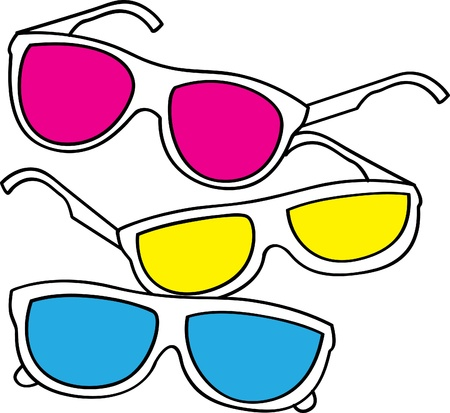 accessory: retro sunglasses