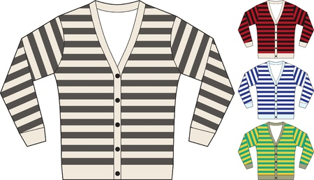 sweat shirt template Stock Vector - 9931002