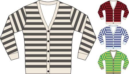 sweat shirt template Vector