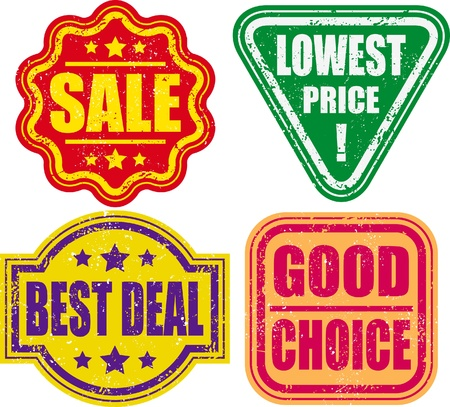 good deal: promotion tag