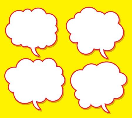 comical bubble speech Stock Vector - 10207505