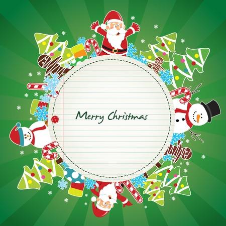 christmas card Stock Vector - 10978434