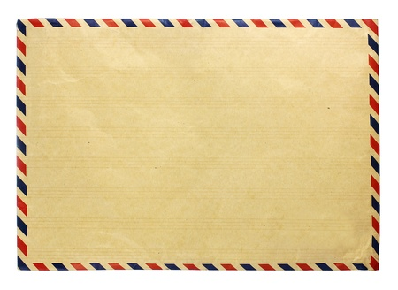 old envelope: front side envelope