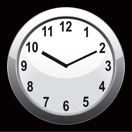 analog clock Vector