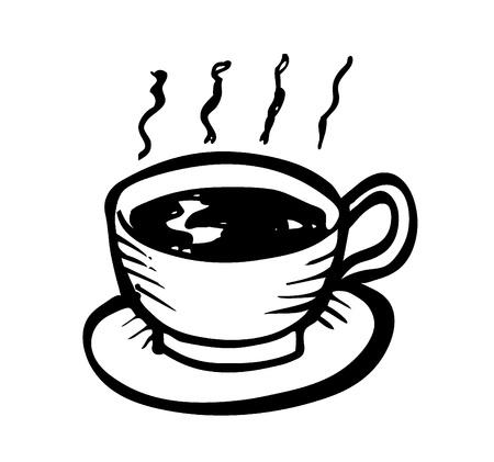 coffee doodle Stock Vector - 13101671