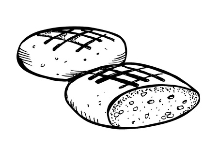 wholemeal: bread doodle