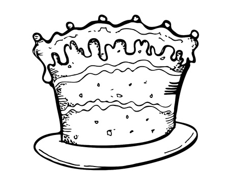 cake doodle Stock Vector - 13101727