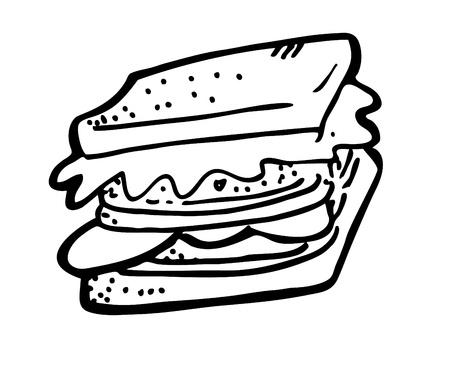 Sandwich-doodle