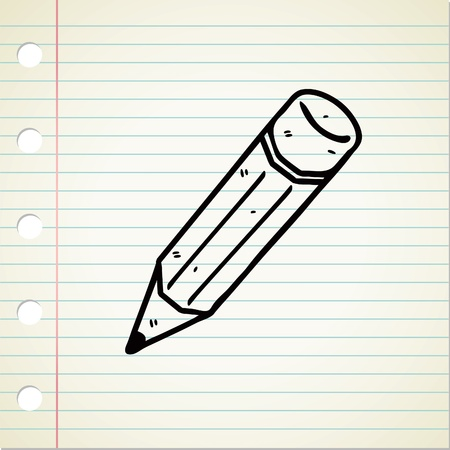 pencil doodle Stock Vector - 13138003